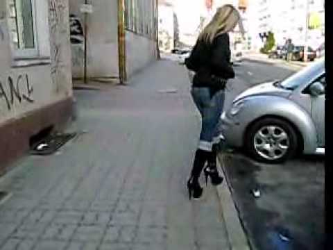 Madi Heels - Sexy Blonde