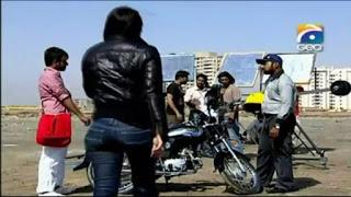 Daily Motion_ Ayesha Omar- Riding a Motorcycle
