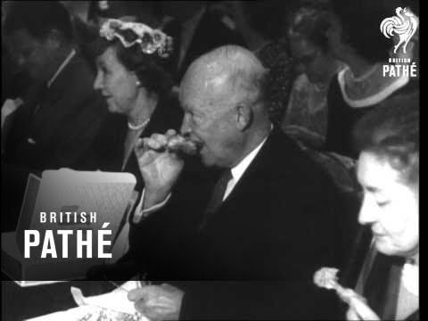 British Pathe - President Dwight D. Eisenhower (1960)