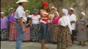 A scene from a Mexica soap opera.