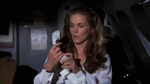 Fishy Paw_ Airplane (1980) Julie Hagerty_ 'Everything is Fine Up Here_ Oh by the Way, Can Anyone Fly a Plane_'