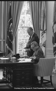 President Gerald Ford & Vice President Nelson Rockefeller
