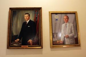 Carl E. Sanders & Lester Maddux