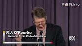 FORA-TV_ PJ O'Rourke- 'Conservatives and Fiscal Responsibility'