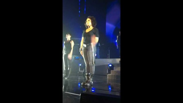 Janet Jackson - _Rhythm Nation_ Breakdown - Sydney, 8 November 2011