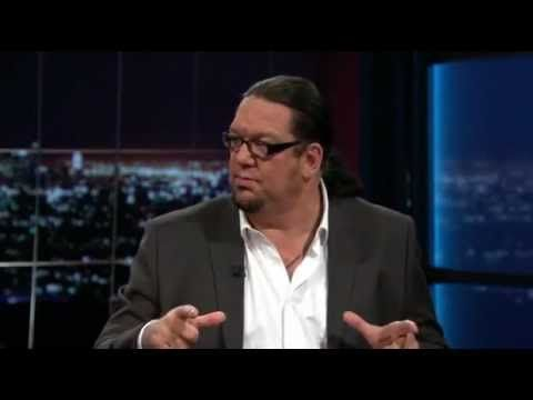 Penn Jillette Explains His Libertarian Philosophy