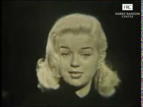 Diana Dors--Complete Mike Wallace Interview, 1957