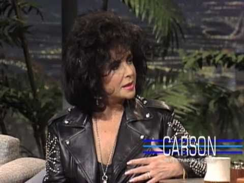Johnny Carson and Elizabeth Taylor on Marriage on Johnny Carson's Tonight Show