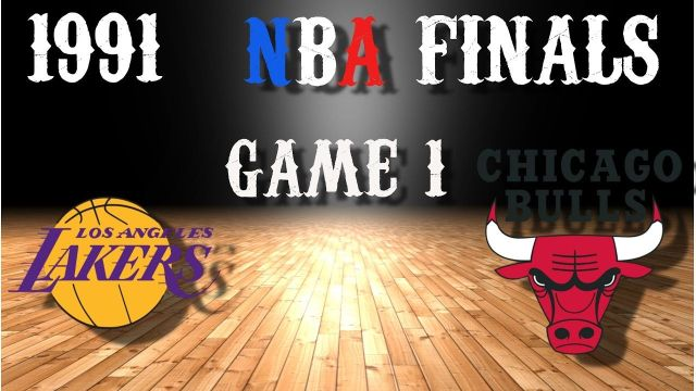 1991 NBA Finals Game 1 Los Angeles Lakers@Chicago Bulls