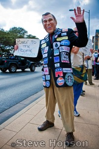 Occupy Austin Protest