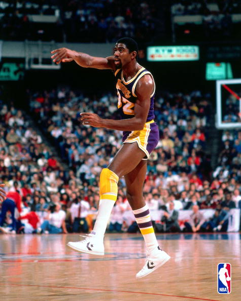 Magic Johnson passes