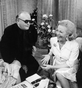 Capote and Martha Mitchell on Talk Show