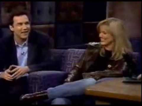 Late Night With Norm MacDonald and Courtney Thorne Smith