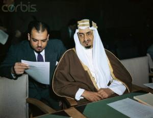 Amir Faisal Al Saud in Arab Dress