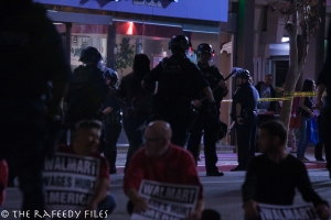News-CA-City of Los Angeles-Protest Against Income Inequality