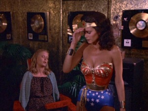 Wonder Women Stopped by Disco Music
