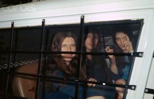 Manson Murder Defendants in Van