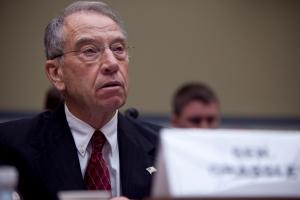 U.S. Senator Chuck Grassley, R, Iowa