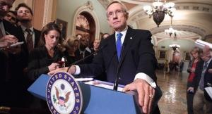 U.S. Senate Leader Harry Reid, D