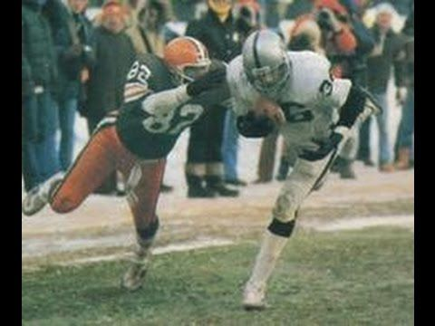 1980 WK 18 AFC Division Playoff Oakland Raiders (12-5) @ Cleveland Browns (11-5) Red Right 88