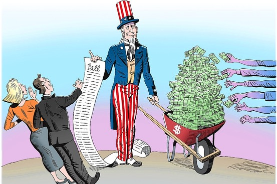Uncle Sam - Tax The Rich