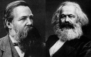 Frederick Engels & Karl Marx