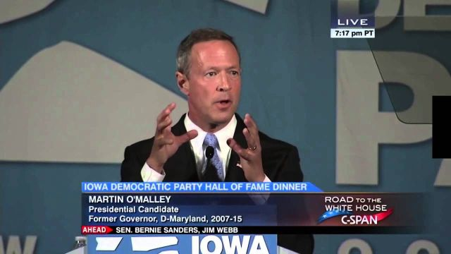 Governor Martin O'Malley, 7_17_2015