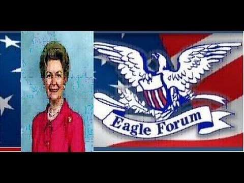 Phyllis Schlafly Who killed American family Eagle Forum