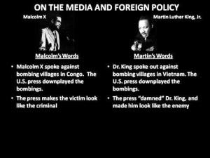 Minister Malcolm & Dr. King