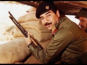 Iraqi Dictator Saddam Hussein