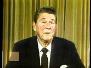 President Ronald W. Reagan- Borrow and Spender