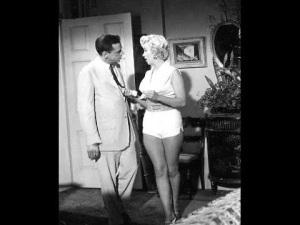 Tom Ewell & Marilyn Monroe