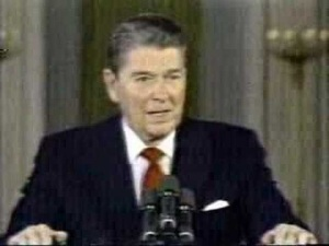 President Ronald W. Reagan- Deficits Don't Matter?