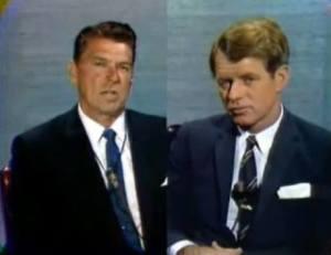 Ronald W. Reagan & Robert F. Kennedy