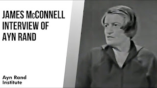 The New Democrat_ Ayn Rand Institute_ 'James McConnell- Interviews Ayn Rand About the New Intellectual (1961)'