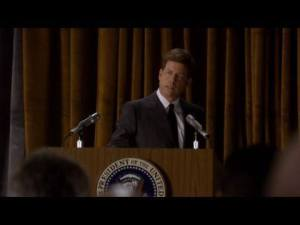 Greg Kinnear as JFK