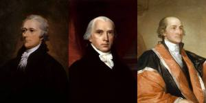 Alexander Hamilton, James Madison, John Jay