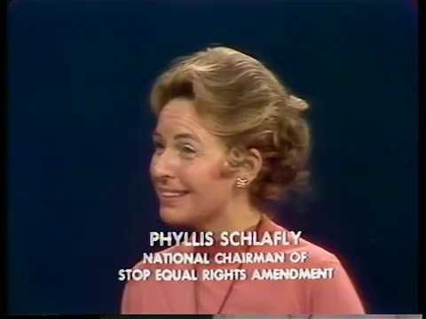 Firing Line With William F. Buckley Jr: The Equal Rights Amendment- Phyllis Schlafly Debates Ann Scott in 1973