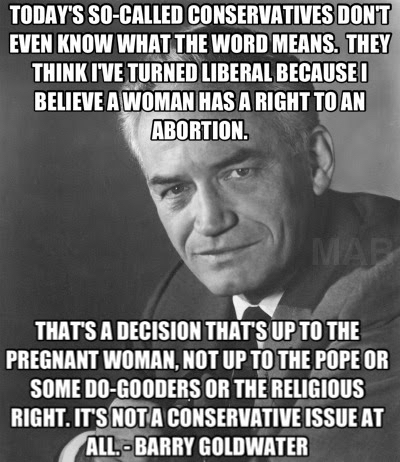 Barry Goldwater: On Christian Conservatives