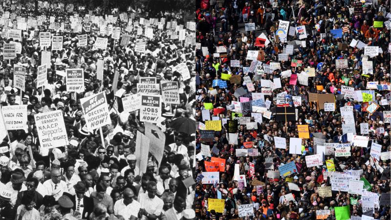 The New Yorker: A Hundred Years of American Protest, Then and Now