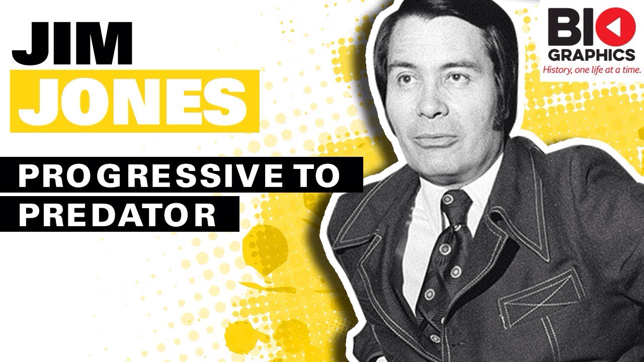 Biographics: Simon Whistler- Jim Jones Biography: 'Progressive to Predator'