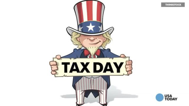 Image result for tax day 2019 Uncle Sam