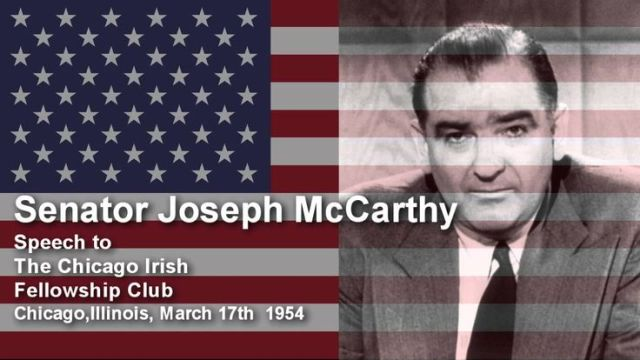 Traitors Are Not Gentlemen Senator Joseph McCarthy March 17th 1954 - Google Search