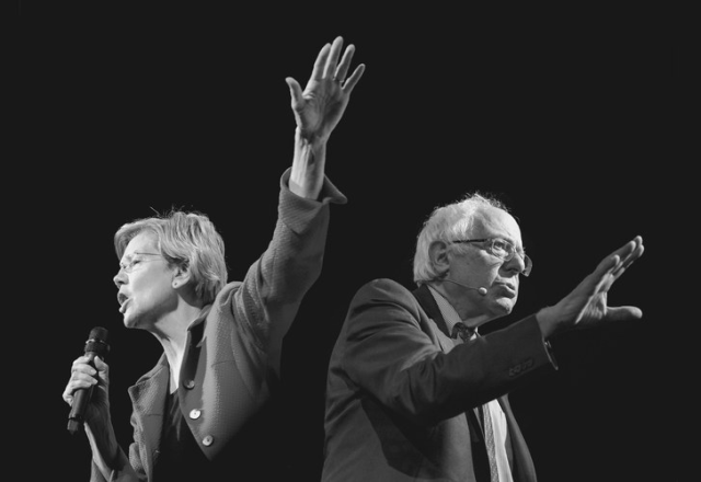 Elizabeth Warren, Bernie Sanders, and Two Paths for the American Left - Google Search