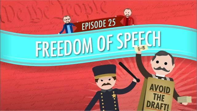 Freedom of Speech_ Crash Course Government and Politics - Google Search