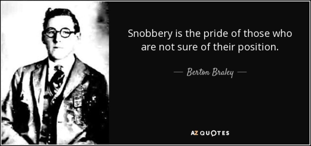 Snobbery - Google Search