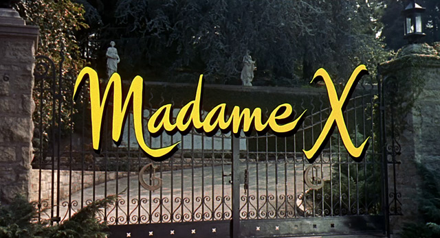 Out Of The Past: Raquel Stecher- 'Madame X (1966)': Starring Lana Turner