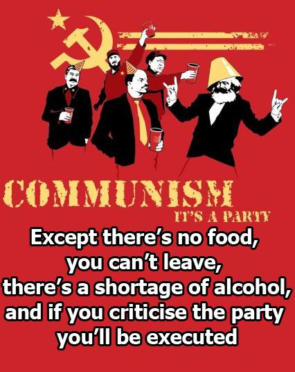 Dan Mitchell: 'Communism Humor'