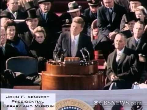 President John F_ Kennedy's Inaugural Address