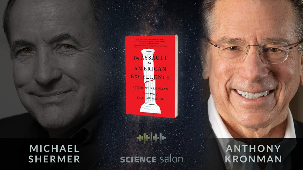 Skeptic Magazine: Michael Shermer- Interviewing Anthony Kronman: 'The Assault on American Excellence'